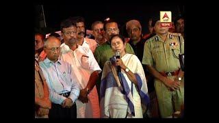 Metro rail works created vibration: CM Mamata on Majerhat Bridge collapse