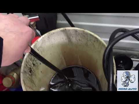 Mercury  Sable замена масла в акпп