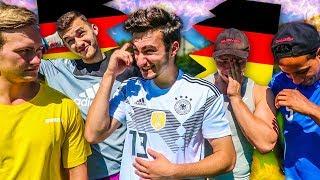DEUTSCHLAND WM AUS Fußball Challenge!!