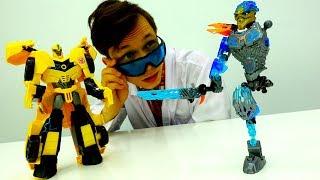 Игры с доктор Ой - Игрушки трансформеры: чиним Галли