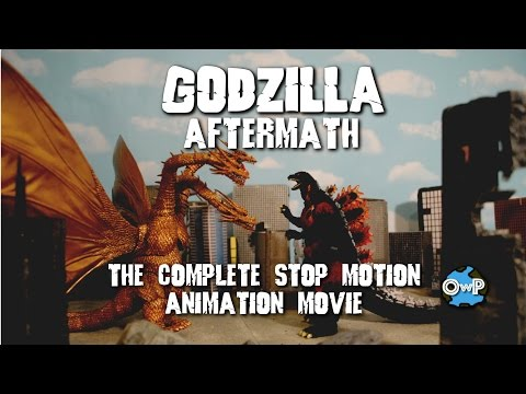 GODZILLA: AFTERMATH (Stop Motion) COMPLETE MOVIE
