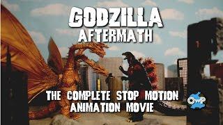 GODZILLA: AFTERMATH (SH MonsterArts Stop Motion) COMPLETE MOVIE