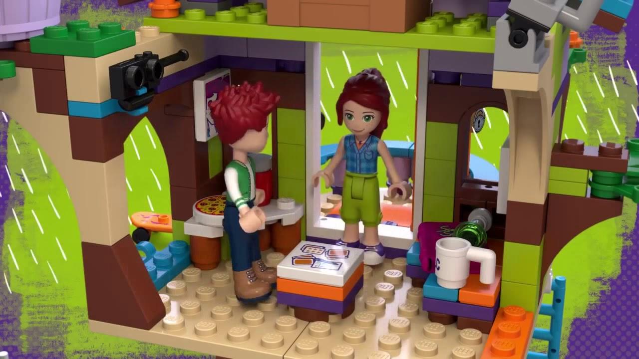 Toyworld Nz Lego Friends Mias Tree House 41335 Youtube