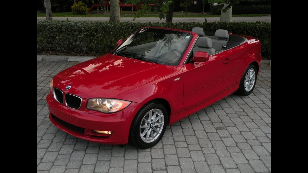 2011 Bmw 1 Series 128i Convertible Fort Myers Florida
