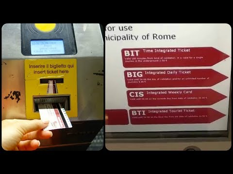 How To Buy Metro Tickets In Rome - A Quick Guide