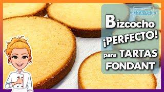Bizcocho perfecto para tartas fondant - Trucos y consejos | Bizcocho para Fondant | Bizcocho torta