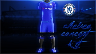 Chelsea Concept Kit 17/18 - SPEEDART - Photoshop CC