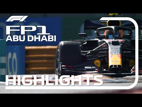 2020 Abu Dhabi Grand Prix: FP1 Highlights