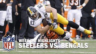 Steelers vs. Bengals | Week 14 Highlights | NFL