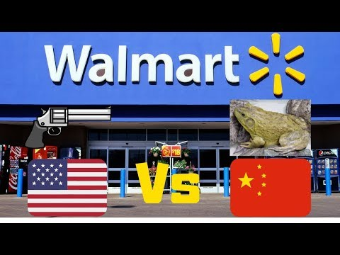 Top 5 Differences At WALMART - China Vs USA