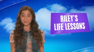 Girl Meets World - Riley's Life Lessons - INTERACTIVE VIDEO - Disney Channel UK HD(PLEASE NOTE: FOR FULL INTERACTION AND USE OF ANNOTATIONS, PLEASE VIEW THIS VIDEO ON A DESKTOP DEVICE. Watch Girl Meets World on ..., 2014-10-06T13:58:43.000Z)