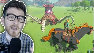 Can You Kill Every Mini-Boss in Zelda with ONLY a Horse? (Breath of the Wild)