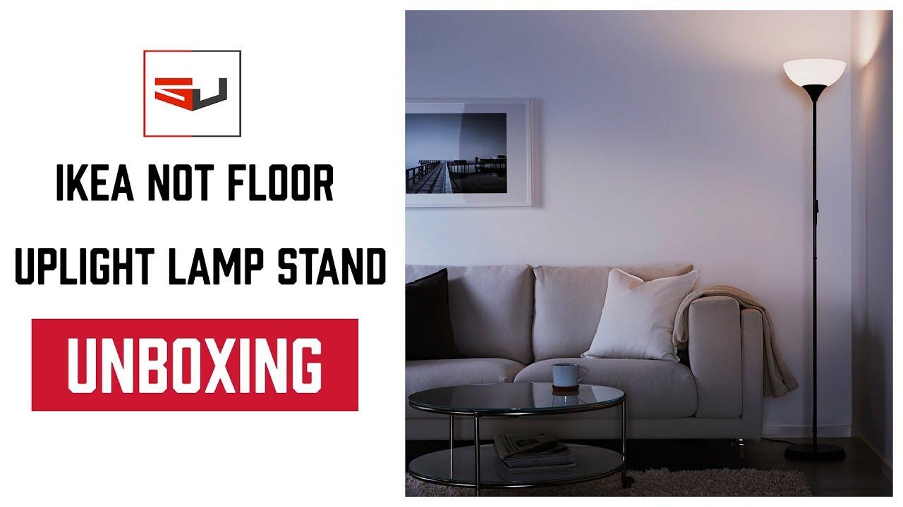 Unboxing ikea not floor uplight lamp stands youtube unboxing ikea not floor uplight lamp stands aloadofball Choice Image
