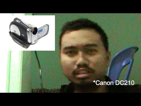 Review Canon DC210 DVD Camcoder