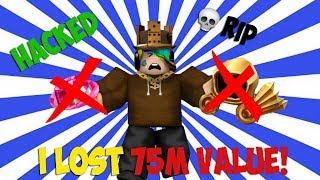I LOST 75,000,000 ROBUX! (How I got HACKED & How Not To!) - Linkmon99's Guide to ROBLOX Riches #4