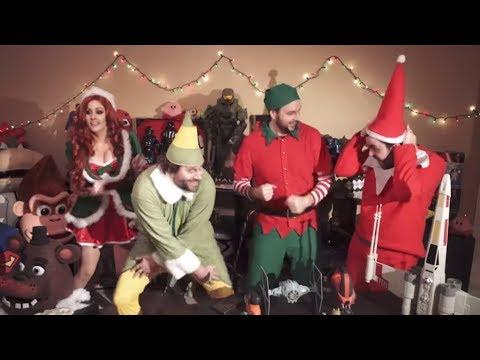 CHRISTMAS Youtube Rewind Parody 2016 ft Harley Quinn, PPAP, Twenty One Pilots, The Weeknd, & MORE!