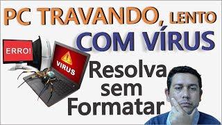 Gambar cover PC Lento, TRAVANDO, Lentidão ao Iniciar Windows, PC COM VÍRUS, Resolva sem Formatar