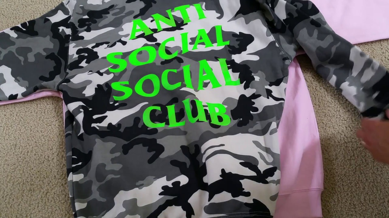 a4e3748e1fa Real vs Fake Anti Social Social Club Hoodie Hoody Full Review HD 2017