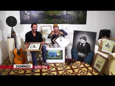 Detrás del Arte (TV Perú) - César Caycho - 06/08/17 (promo)