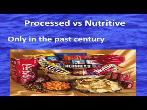 Food Enzymes:  Key to Longevity - Dr Tim O'Shea