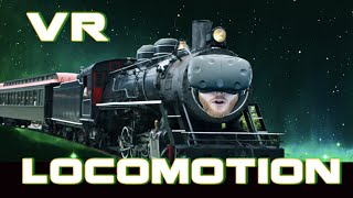 Locomotion in VR: Overview of different locomotion methods on HTC Vive
