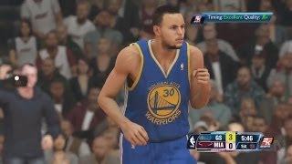 NBA 2K14 Next Gen Gameplay Thoughts - Warriors vs. Heat