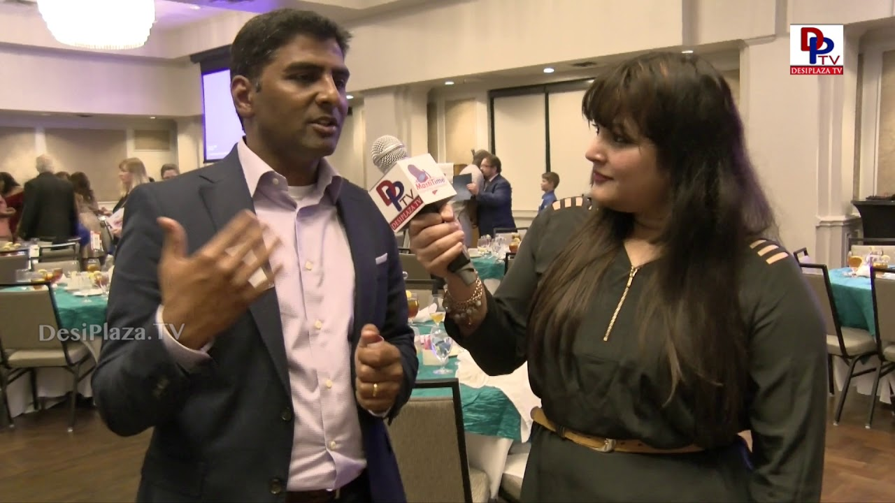 Mani Raveendran - Awardee at Immigration Journey Awards speaks to DesiplazaTV | #IJAwards2018