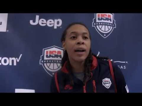 My First Olympics - Ep 8 : Seimone Augustus