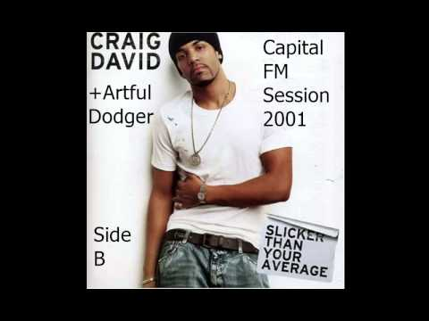 Craig David + Artful Dodger - UK Garage Remixes - Capital 95.8fm - 2001