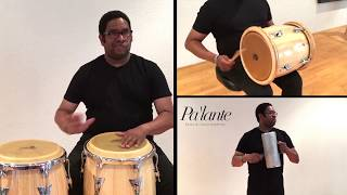 Merengue percussion