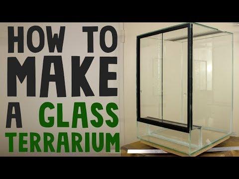 How to build a glass terrarium vivarium