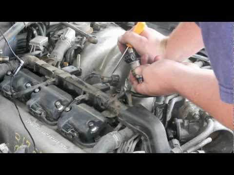How to Remove & Replace Fuel Injector V6 Honda Acura
