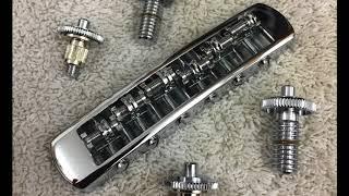 Gibson Les Paul: Schaller Roller Tunematic Bridge