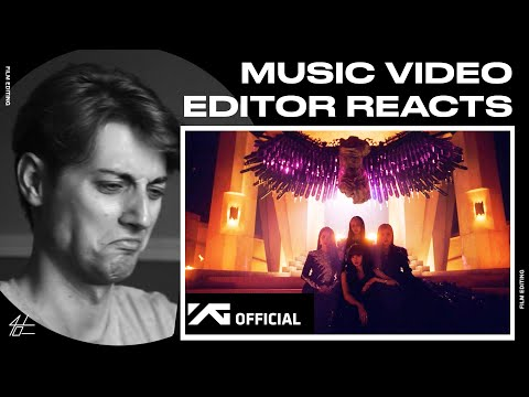Video Editor Reacts to BLACKPINK - 'How You Like That' M/V