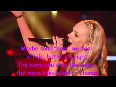 Danielle Bradbery-Put Your Records On-The Voice 4-Lyrics