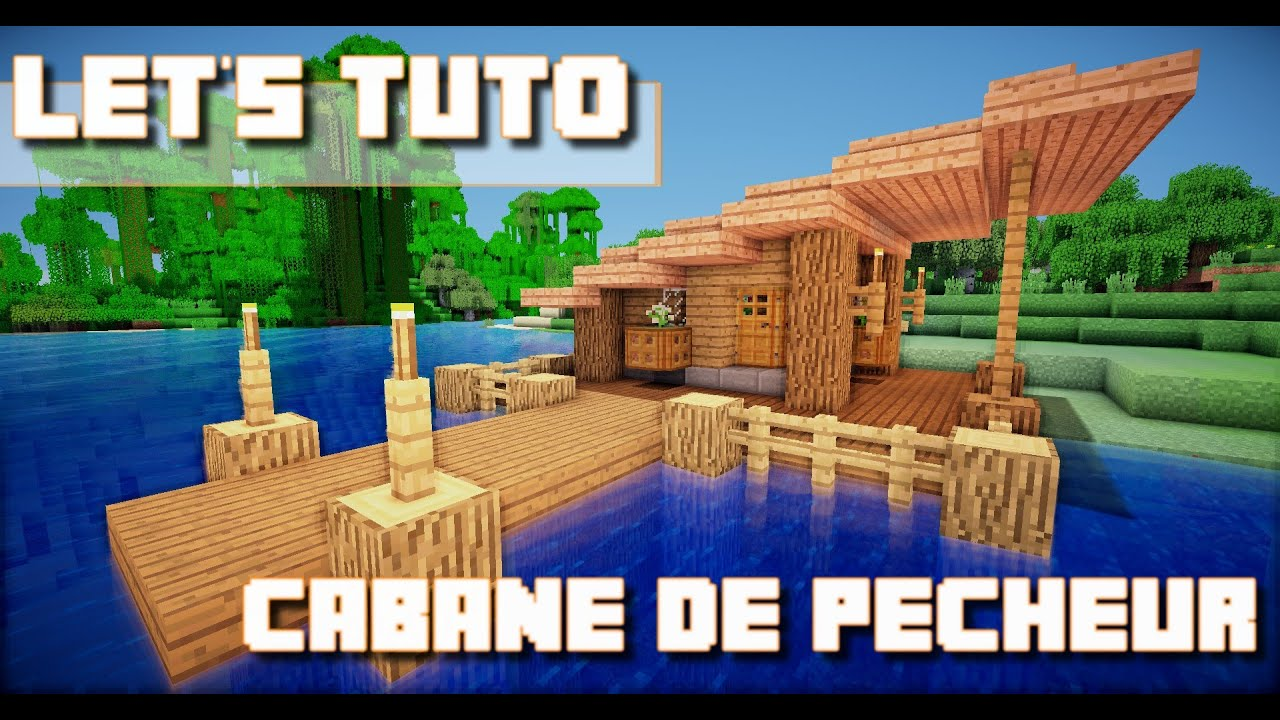 minecraft let 39 s tuto maison de pecheur download. Black Bedroom Furniture Sets. Home Design Ideas