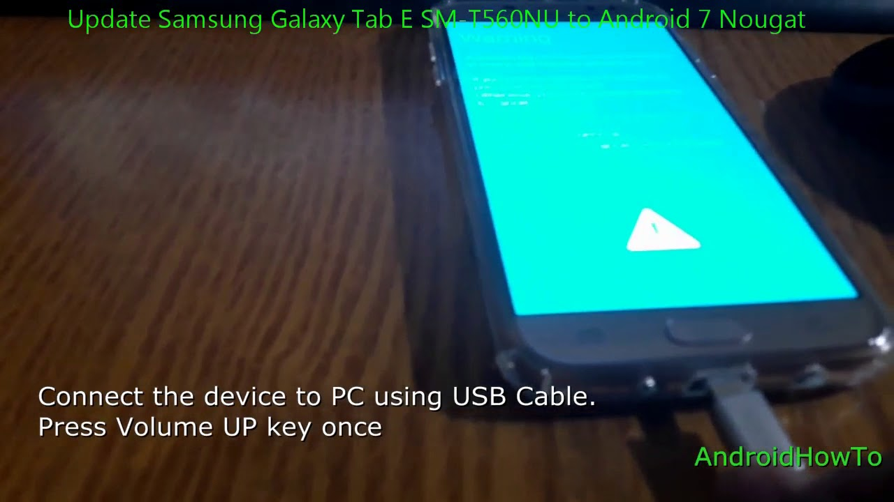 Samsung Galaxy Tab E Update To Lollipop
