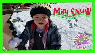 Mid May SNOW Surprise! CrAzY Bipolar Spring Weather