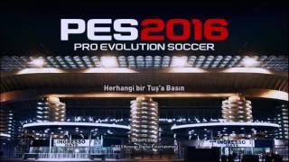 PES 2016 Multiplayer Oynama (My Club) Orjinal Yapma!!