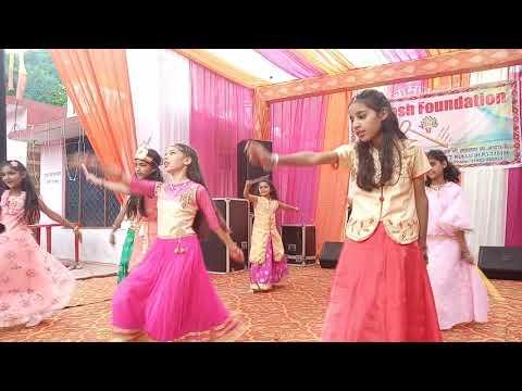 Celebrating janamashatmi at Global village school Ropa Live performance.