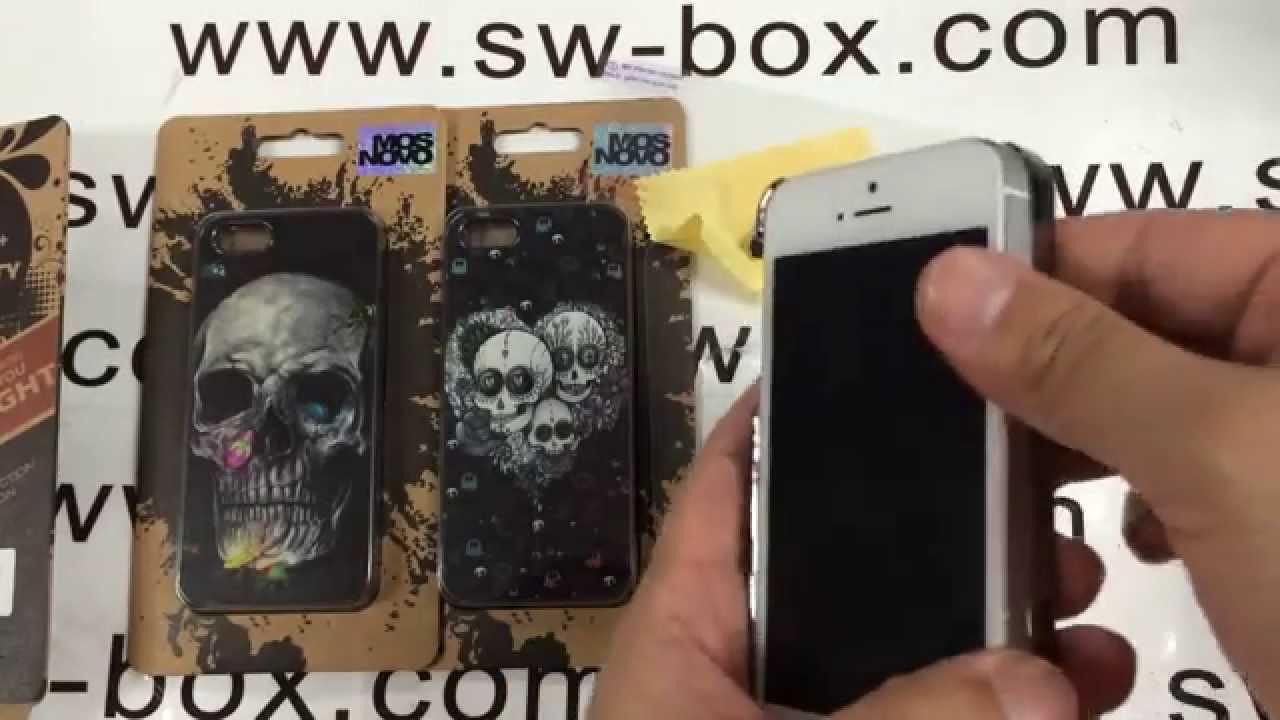 Designer Iphone 5s Cases Skull Design Fashion Cover Youtube