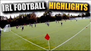 IRL SCHOOL FOOTBALL / SOCCER HIGHLIGHTS! - MY 6 GOALS #1