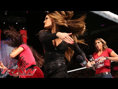 Nikki Bella explains why she betrayed Brie at SummerSlam: Raw, Aug. 18, 2014
