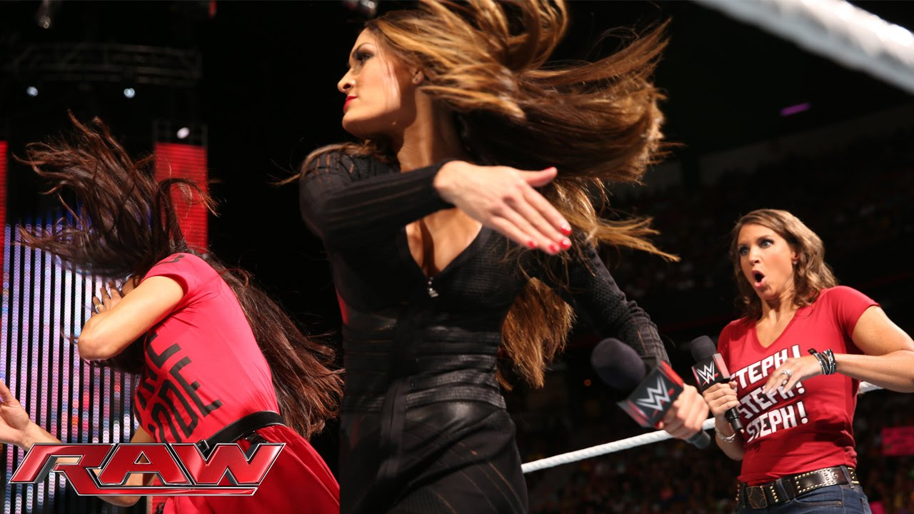 Download Nikki Bella explains why she betrayed Brie at SummerSlam: Raw, Aug. 18, 2014