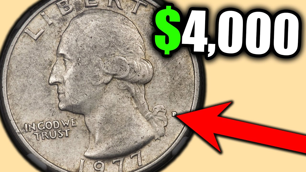 Which QUARTERS are VALUABLE COINS? 1977 ERROR QUARTERS WORTH MONEY!!