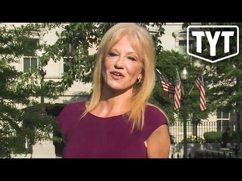 Kellyanne Conway Caught Breaking Federal Law