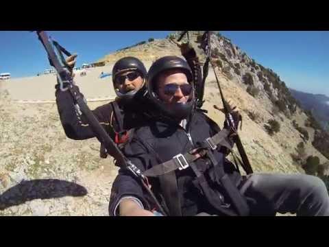 Bitcoin traveler: Paragliding challenge in Turkey