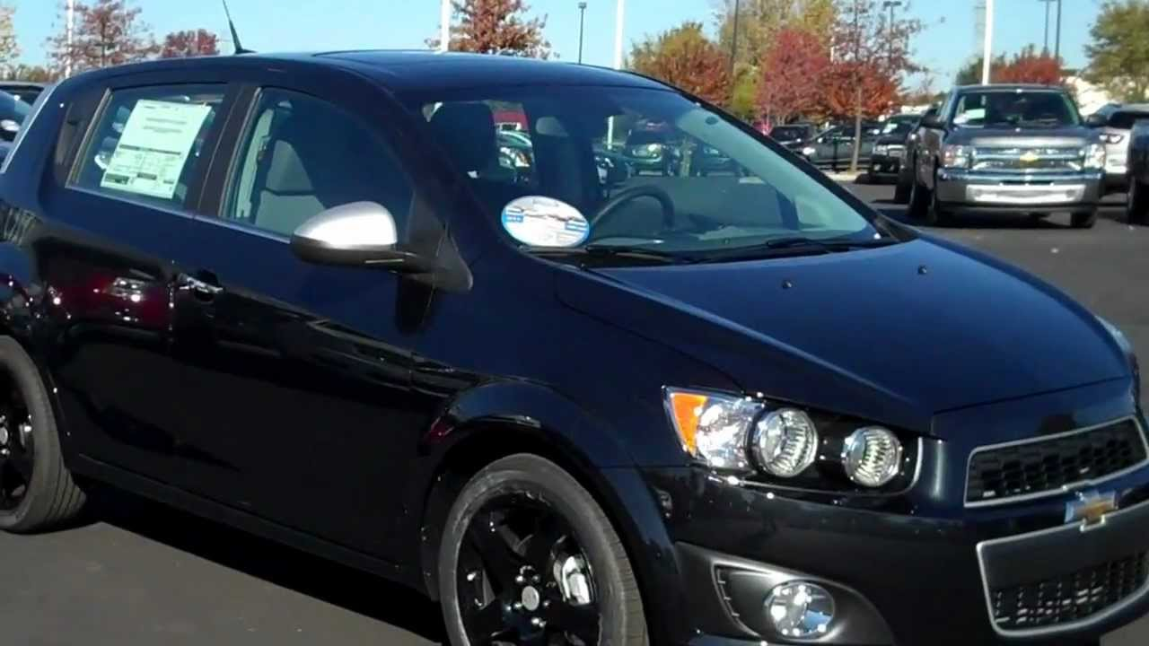 2013 Chevrolet Sonic Hatchback Ltz Black With Black