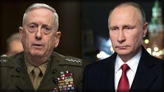 "MATTIS' PENTAGON RESPONDS TO RUSSIA'S SHOOTDOWN THREAT IN 100% ""MAD DOG"" STYLE"