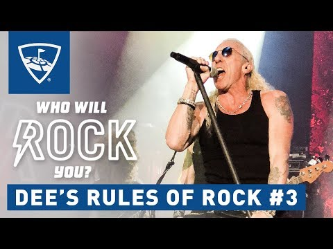 Who Will Rock You? | Season 2: Episode 4 - Dee Snider: How To Find Your Own Sound | Topgolf